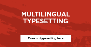 multilingual typesetting